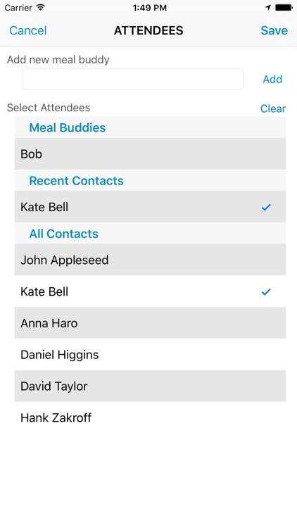 Meals & Tips screenshot-3