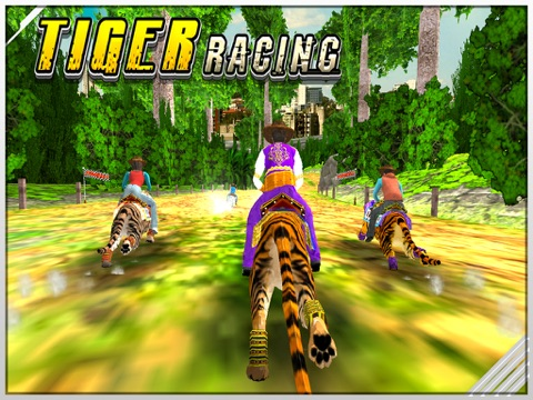 Игра Tiger Racing 3D