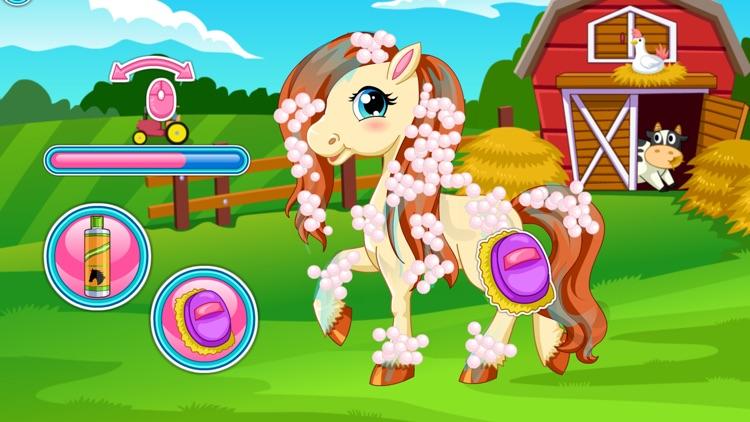 Pony Hair Salon Games and Dress Up screenshot-3
