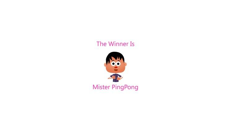 Mister Ping Pong screenshot-3
