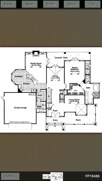 Farmhouse House Plans screenshot-0
