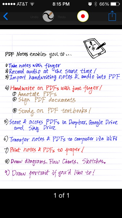 PDF Notes Pro screenshot-0