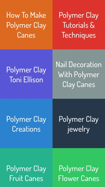 Polymer Clay Canes Guide screenshot-0