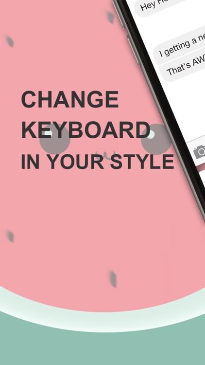 Custom Keyboard Rainbow : Cute Color & Wallpaper Keyboard Designs Themes Style Photo Skins