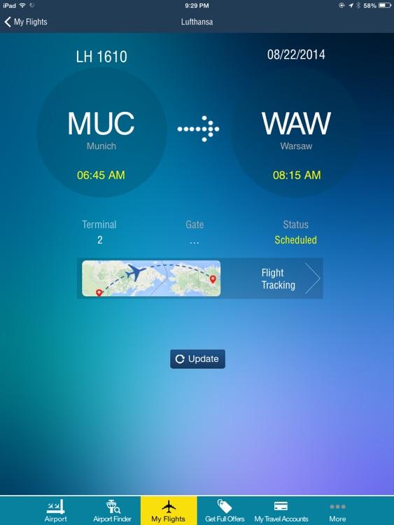 Warsaw Chopin Airport + Flight Tracker HD WAW Wizz