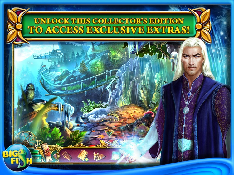 Dark Strokes:  The Legend of the Snow Kingdom HD – A Hidden Object Mystery screenshot-3