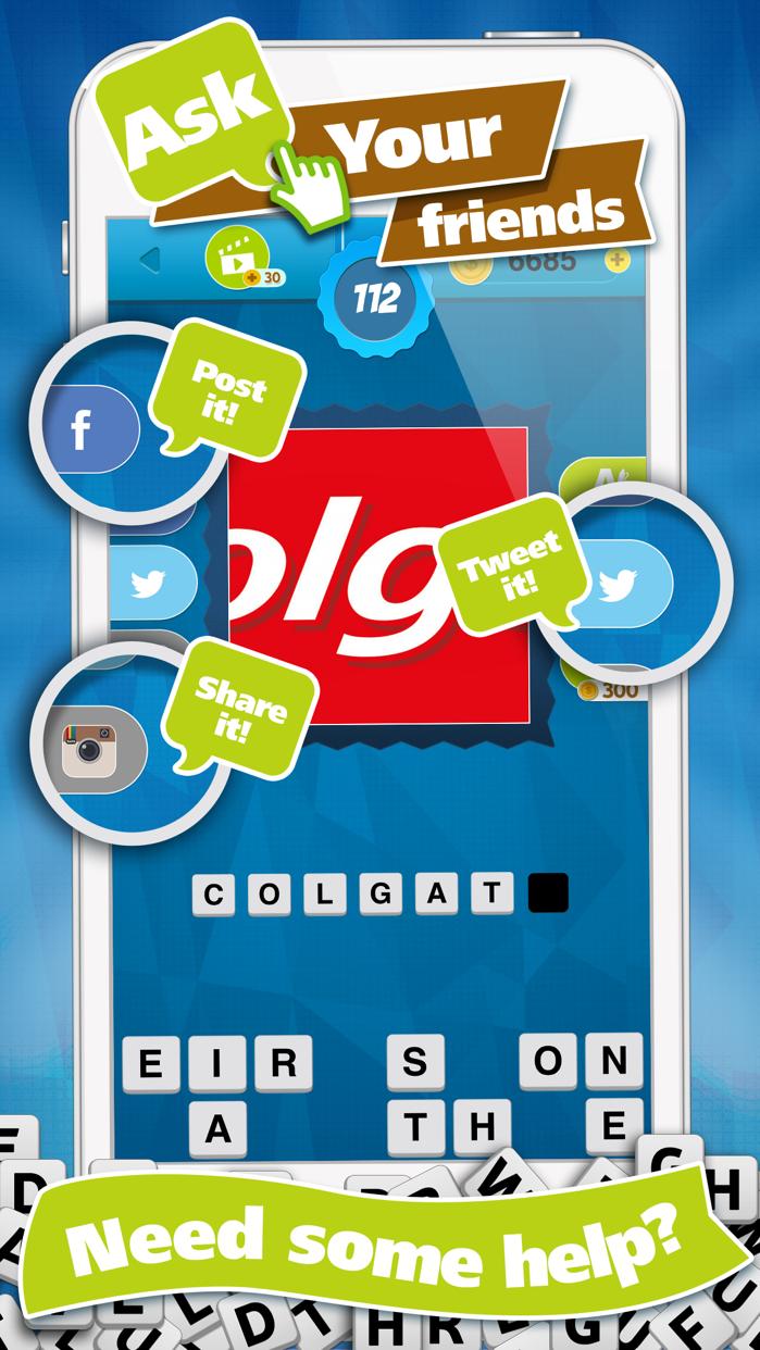 Guess Brand Logos - What's the Logo Name? Trivia Quiz Game Screenshot