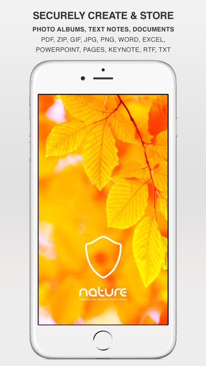 Nature - Private Photo Gallery, Video, Password and Noted Manager with encryption