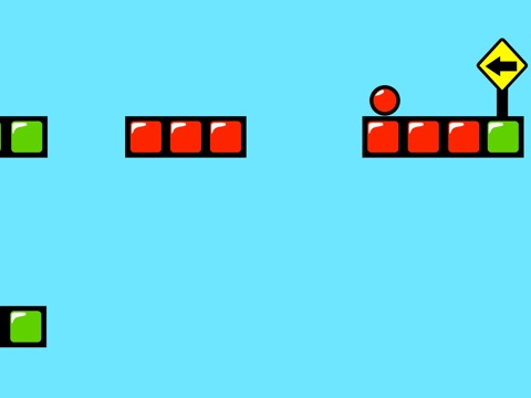 Red Bouncing Ball Spikes Free-ipad-2