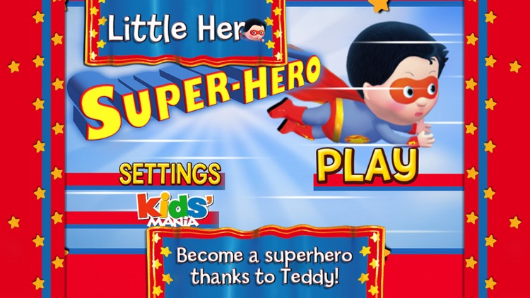 Super Hero : Little Hero - The Game - Discovery