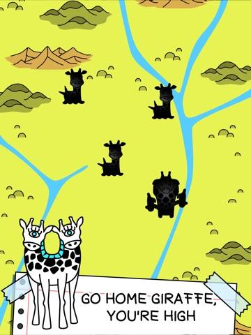 Скачать Giraffe Evolution   игру мутантных жирафов