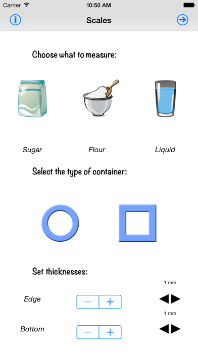 Screenshot for Kitchen Scales in Sweden App Store