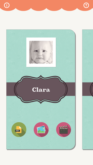 Kid-Capsule : Baby Journal, Photo Album & Scrapbook screenshot one