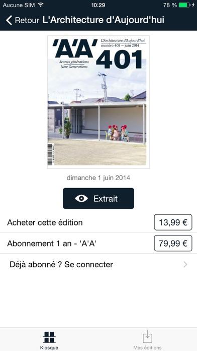 messages.download AA L'Architecture d'Aujourd'hui software