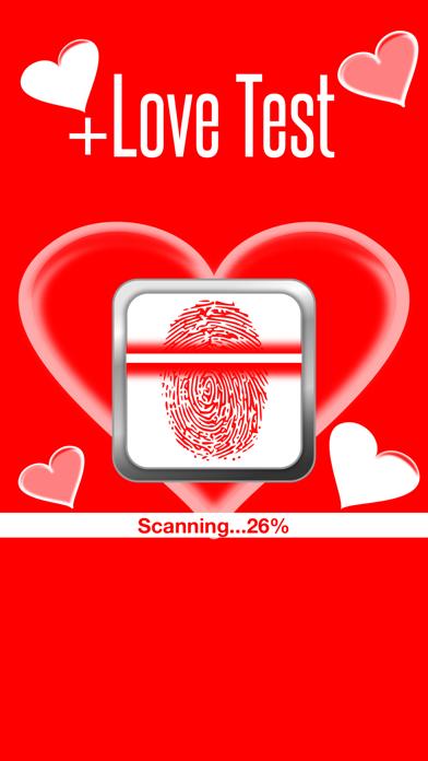 Love Test Calculator - Finger Scanner Find Your Match Score HD screenshot one