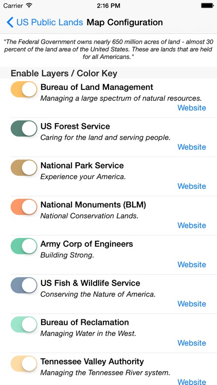 US Public Lands screenshot-3