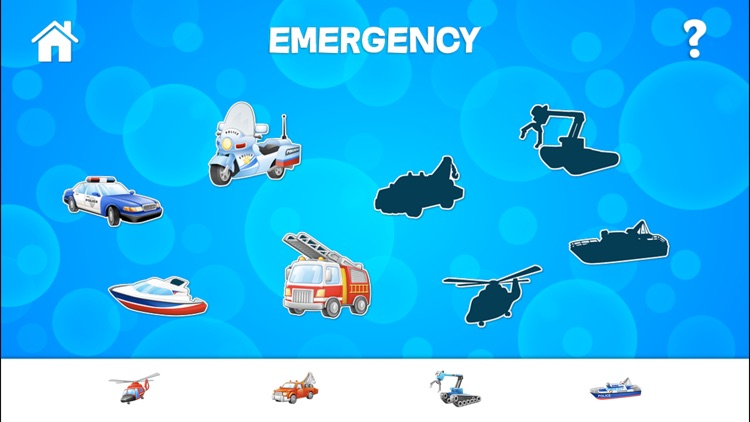 Tap Trucks and Things That Go Shape Puzzles screenshot-3
