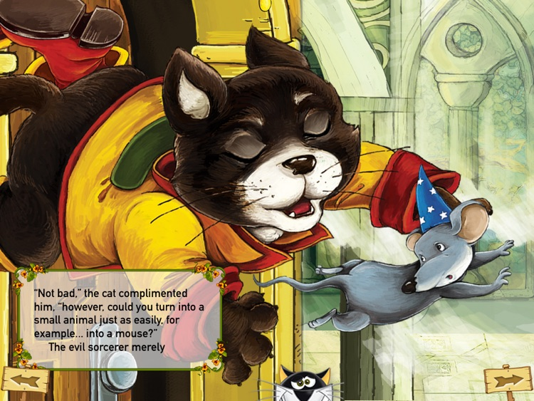 Puss in Boots Interactive French Fairy Tale screenshot-3