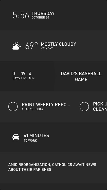 Morning — Weather, To-Do, News, and more screenshot-3
