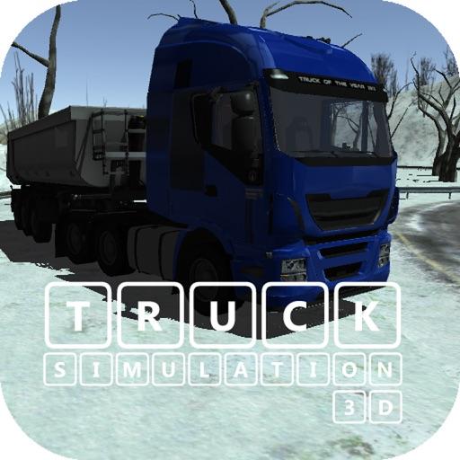 TIR Simulation & Race IV 3D : Hard winter