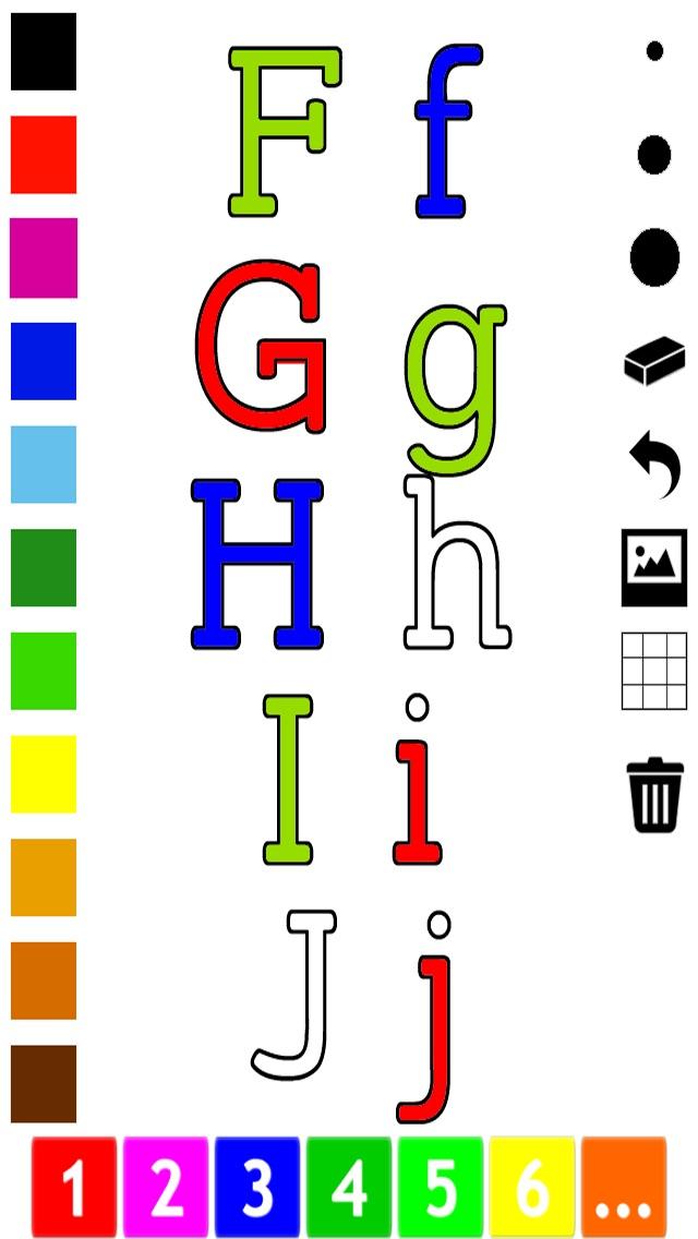 download Abc Livre à colorier : Apprendre à écrire l'alphabet en anglais apps 3