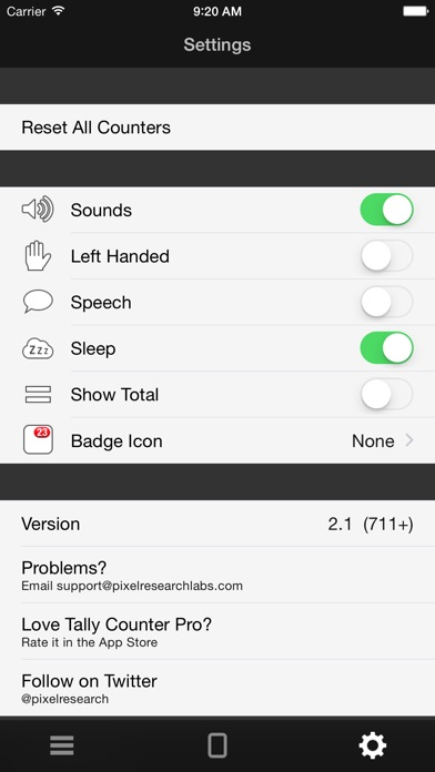 Screenshot for Tally Counter Pro in Germany App Store