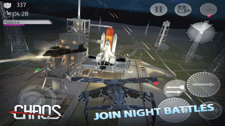 CHAOS Combat Copters HD - №1 Multiplayer Helicopter Simulator 3D screenshot-4