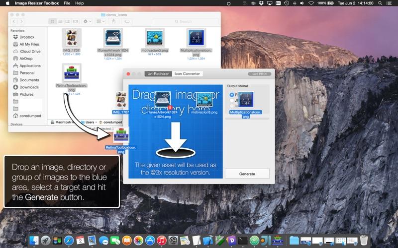 Image Resizer Toolbox review screenshots