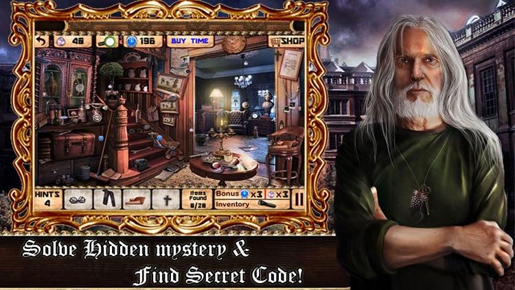 Hidden Objects:The Secret Code