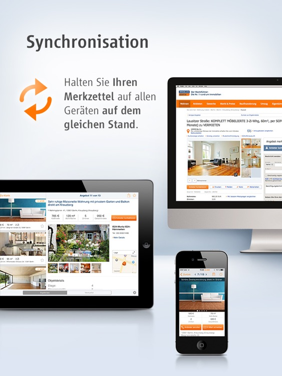 Immobilien Scout24 for iPad screenshot-4