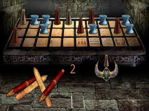 Screenshot #6 pour Senet Égyptien (Jeu de l'Egypte Antique) Anubis vous appelle pour jouer le rôle du pharaon Toutânkhamon(Roi Tut), à l'intérieur d'une tombe cachée, afin de pouvoir renaître avec les dieux dans l'au-delà, sous la protection de l'Œil Oudjat