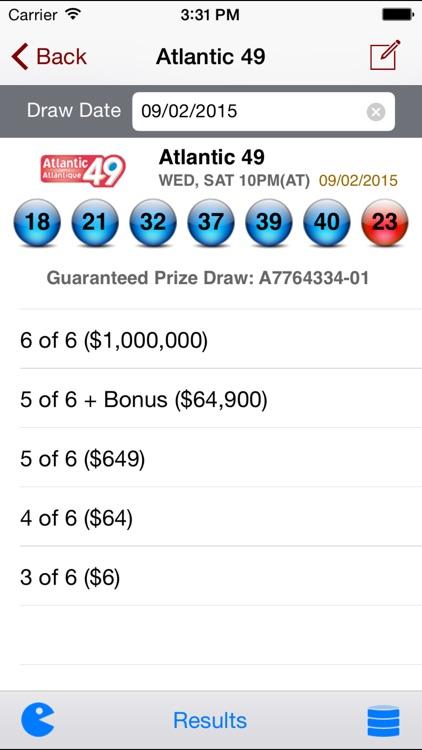 Atlantic Canada Lotto - Lotto Angel screenshot-3
