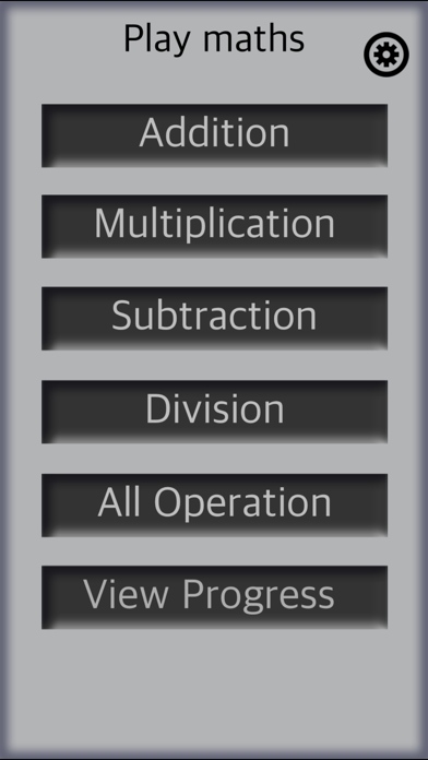 Screenshot #1 pour math flash cards - FREE