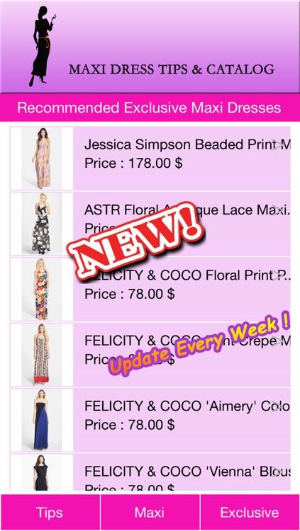 Maxi Dress Catalog screenshot-3