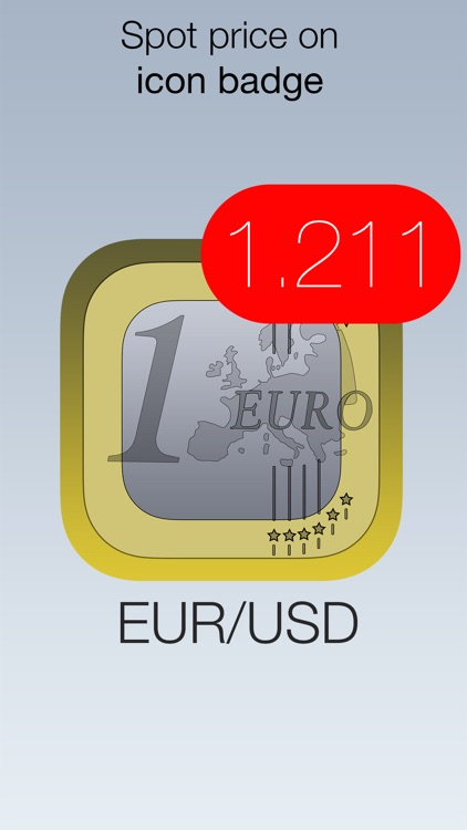 EUR/USD Forex Watch - live euro vs dollar currency exchange rate /w charts, push notifications, custom alerts and more... screenshot-3