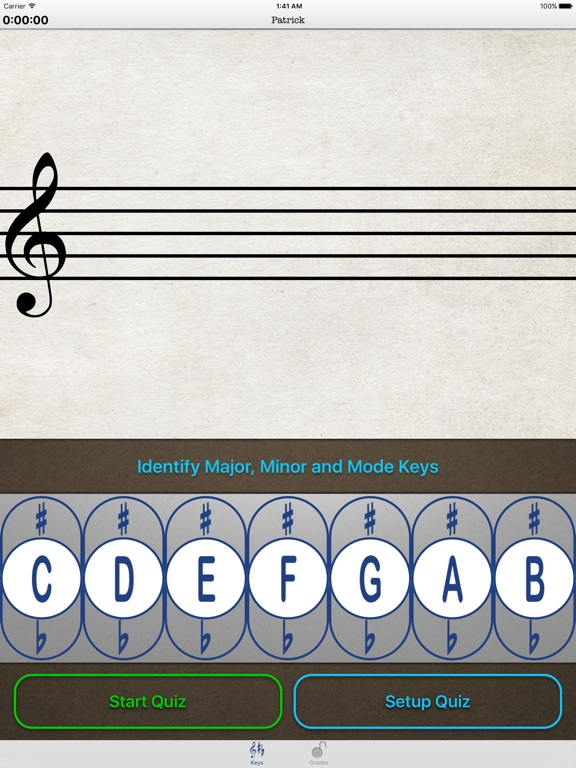 Music Theory Keys