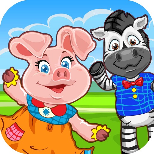 Kids Zoo Puzzle Learning Games - my endless pre-school & alphabet home play games for toddlers iOS App