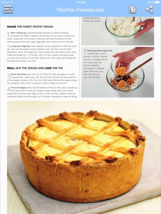 Cake Recipes - Step by Step Cookbook for iPad screenshot-3