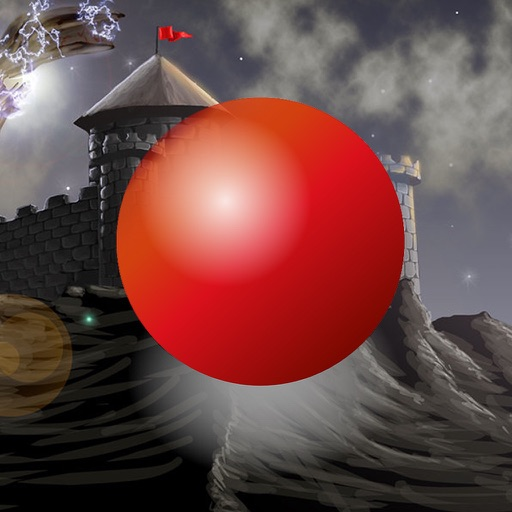 Red Ball Medieval Bouncing : Avoid Spikes