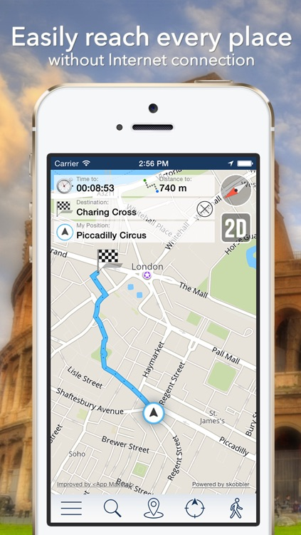 Iran Offline Map + City Guide Navigator, Attractions and Transports