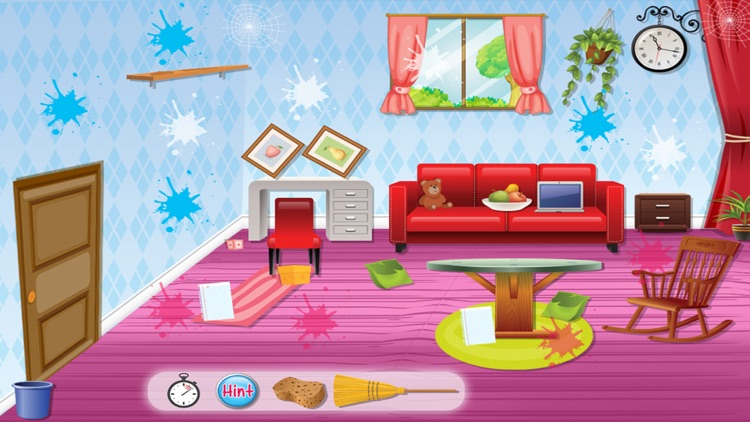 Princess Room Cleanup - Cleaning & decoration game screenshot-3
