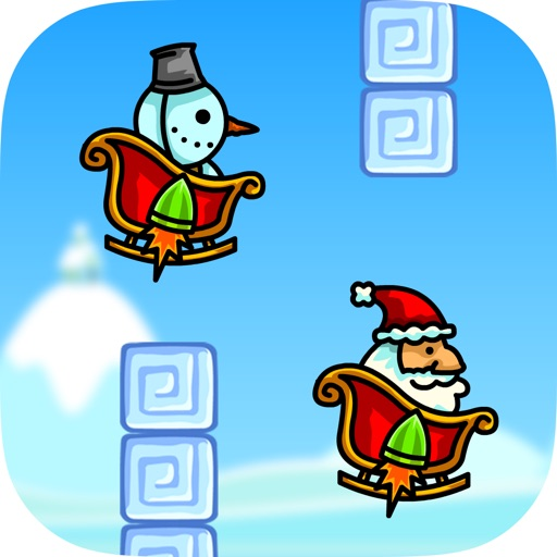Christmas Race – Fun Flying Santa Claus Game