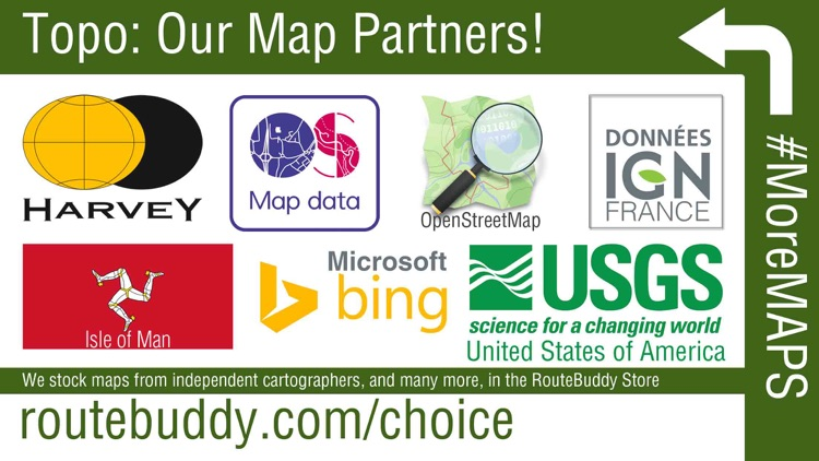 RouteBuddy Atlas - GPS Nav App for US and Worldwide Topo Maps screenshot-4