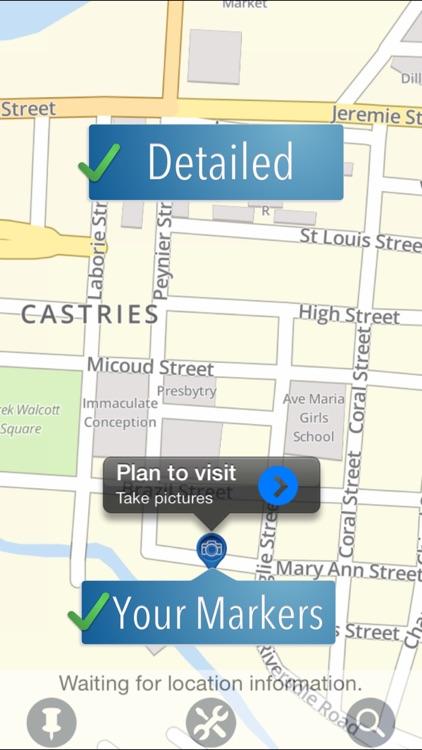 Saint Lucia Travelmapp
