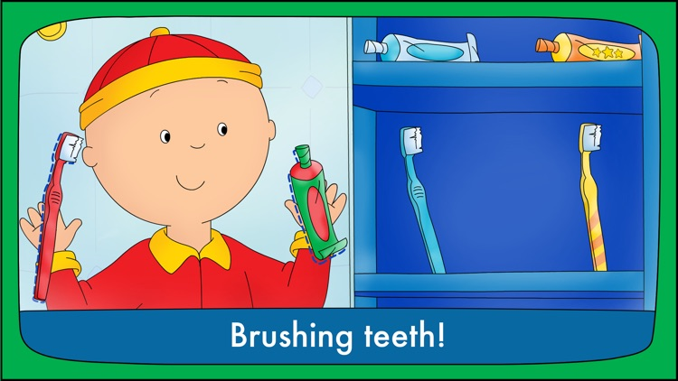 Goodnight Caillou – Bedtime Activities