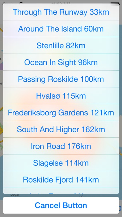 Copenhagen Cycling Map screenshot-3