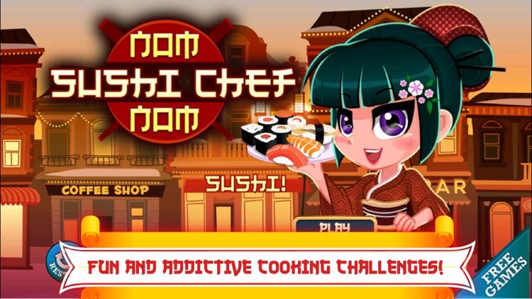 A Sushi Chef Nom Nom Restaurant Story