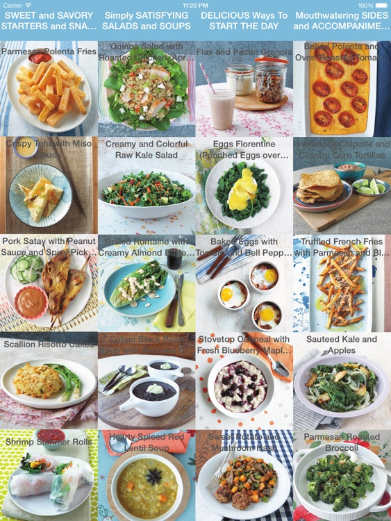 Gluten Free Recipes and Meals for iPad
