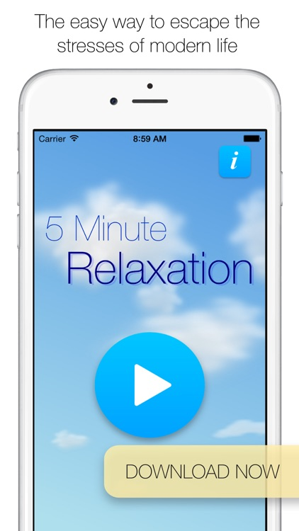 5 Minute Relaxation Pro - Guided meditation for sleep, rest and stress relief screenshot-3