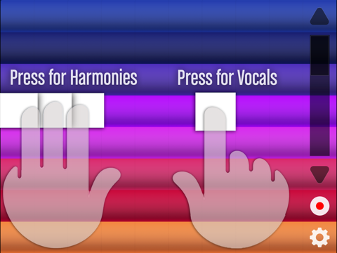 Fingertip Vocals – Sing amazing songs like a pop idol star! Create, record, auto tune and play crazy & beautiful voices.